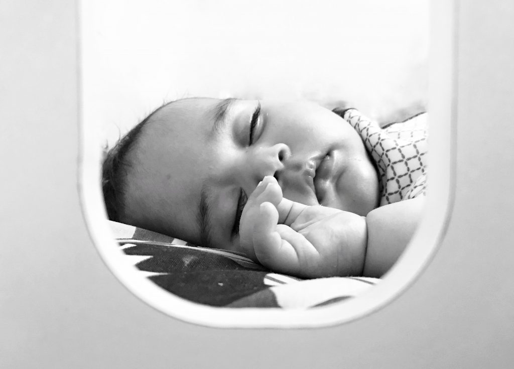 when is side sleeping safe for children